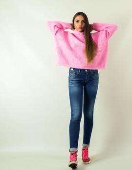 Jersey Silvian Heach Lupetto Tesra Rosa para Mujer