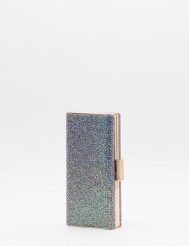 Clutch Rectangular Oro Rosa para Mujer