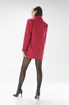 Blazer Lana Fucsia Isabelle Blanche para Mujer